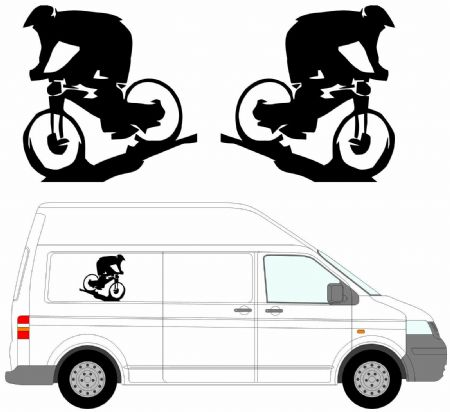 (No.22) MOTORHOME GRAPHICS STICKERS DECALS CAMPER VAN CARAVAN UNIVERSAL FITTING
